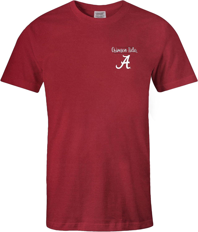 NCAA スケッチブック コンフォートカラー 半袖Tシャツ X-Large レッド