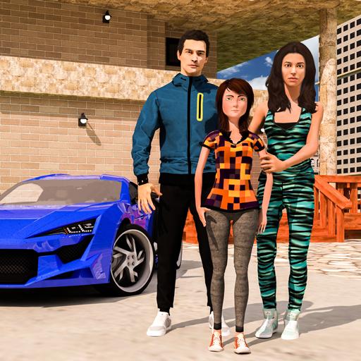 Virtual Mother Simulator: Dream Family Life Sim Happy Family Sweet Home (High School Sim App)