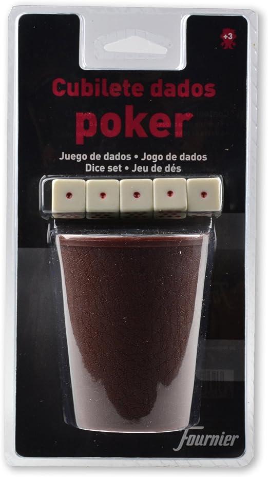Fournier 102006 - Cubilete + Dados Póker Blister: Amazon.es ...