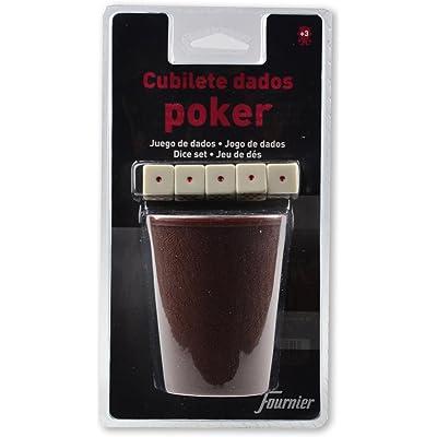 Fournier 102006 - Cubilete + Dados Póker Blister