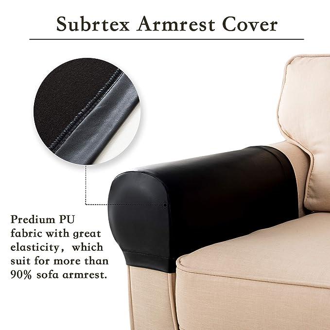 Subrtex Spandex - Juego de 2 Fundas elásticas para ...
