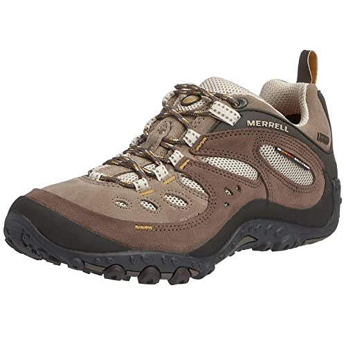Merrell CHAM ARC GTX XCR/BROWN J87724 - Zapatillas de senderismo de ante para mujer, color marrón, talla 42: Amazon.es: Zapatos y complementos