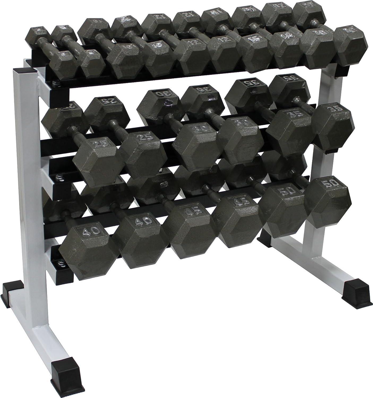 Ader 3 Tier 48 Heavy Duty Dumbbell Rack Rack Only