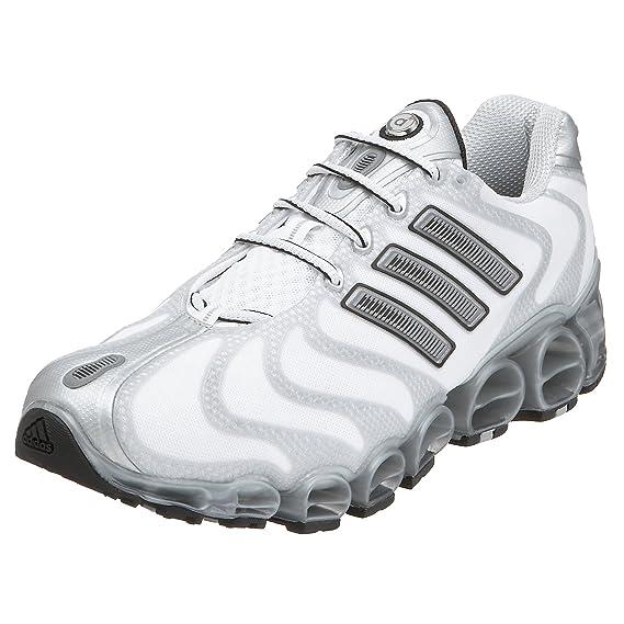 Detectable Huelga Indefinido  Buy Adidas Men's a3 Gigaride Cushion Running Shoe, White/Black/Silver, 12 M  at Amazon.in