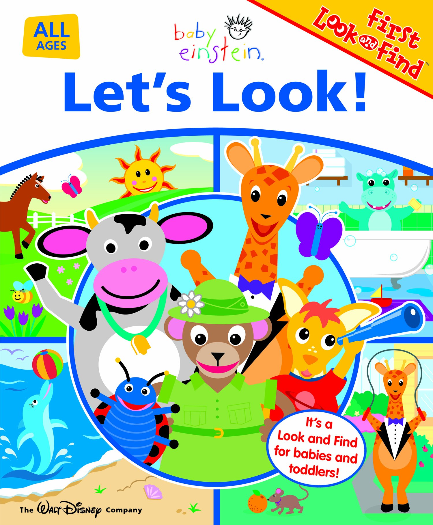 let u0027s look baby einstein first look and find michael p fertig