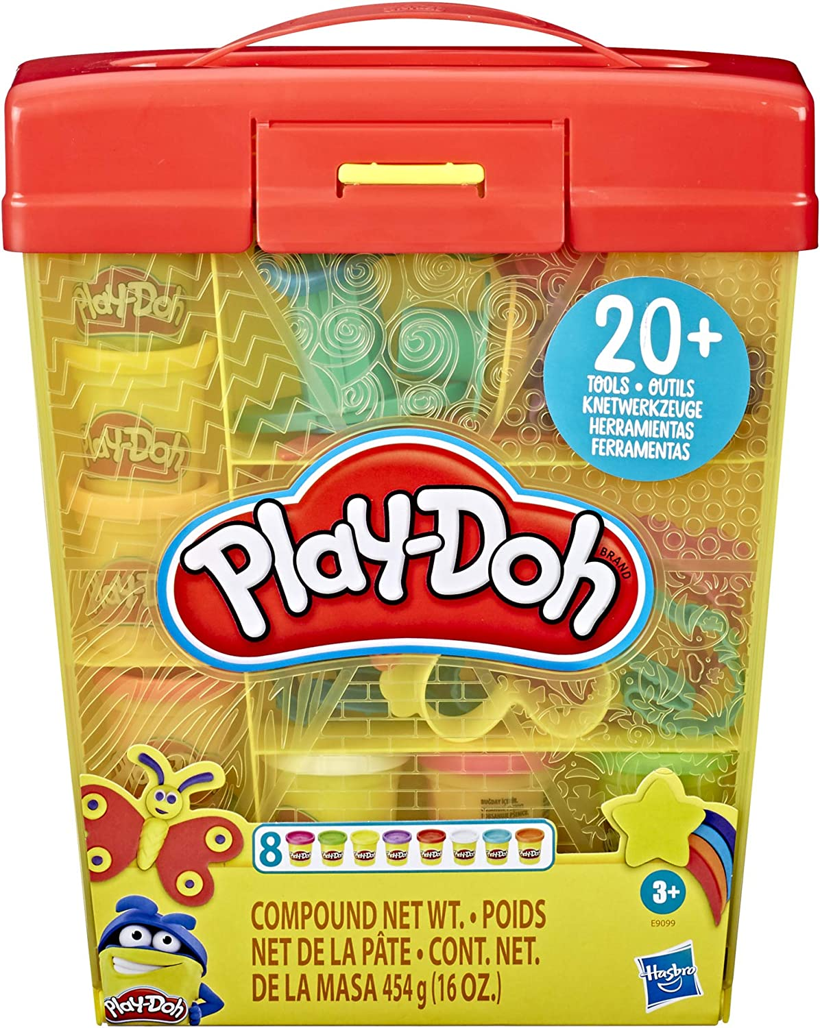 Play-Doh Large Tools and Storage Activity Set 43% OFF £10 @ Amazon