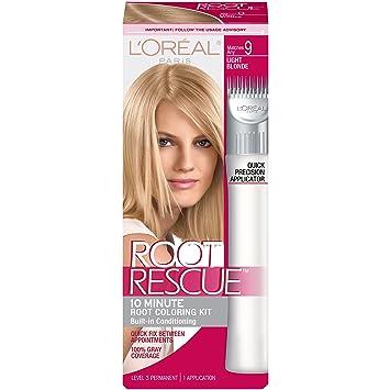 loreal paris kit de coloration racines root rescue formule retouche repousses - Coloration Retouche Racine