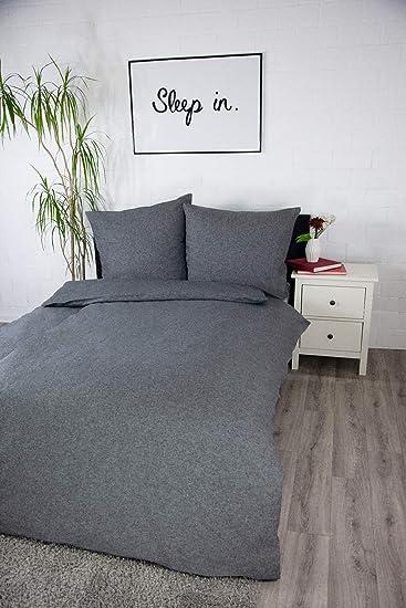 Jilda Tex Biber Bettwäsche Melange 135x200 Cm 100 Baumwolle