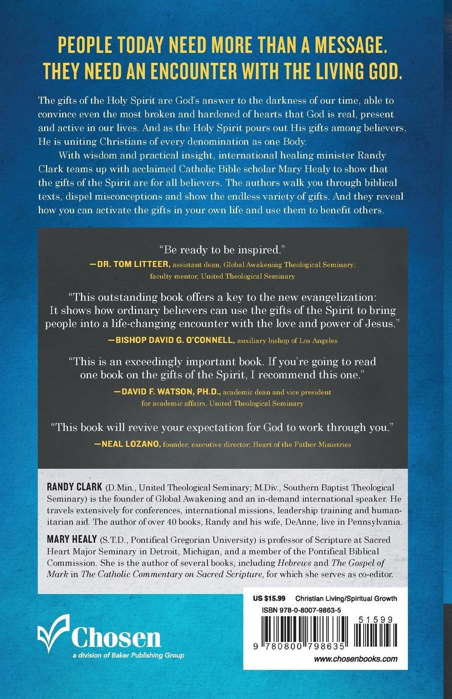 Amazon the spiritual gifts handbook using your gifts to build the amazon the spiritual gifts handbook using your gifts to build the kingdom randy clark mary healy christian living negle Image collections