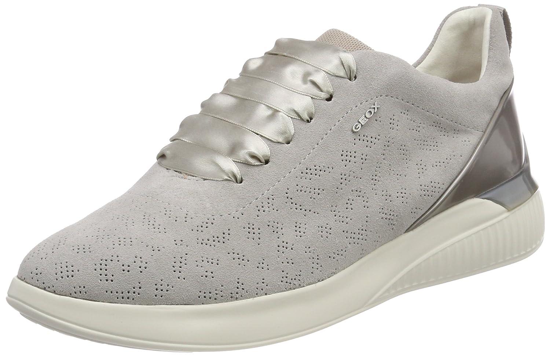 Geox Damen D Theragon C Sneaker Grau (Lt Grey)