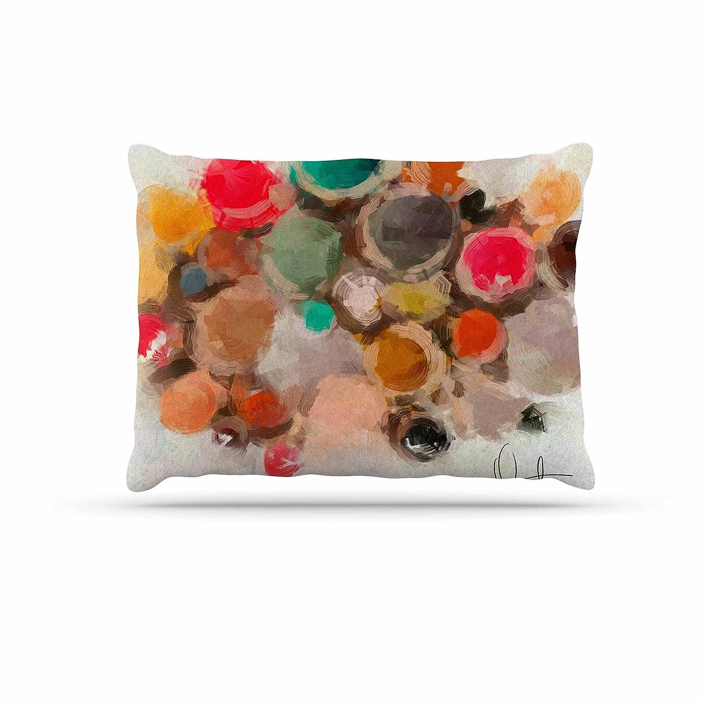 KESS InHouse Oriana Cordero La Maddalena Multicolor Abstract Dog Bed, 30  x 40