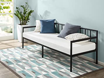 Amazon Com Zinus Eden 30 Inch Wide Day Bed Frame And Foam Mattress