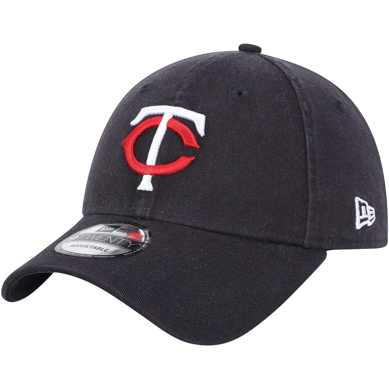 Minnesota Twins New Eraホームレプリカコアクラシック9twenty Adjustable Hat Navy   B07D5T1HCT