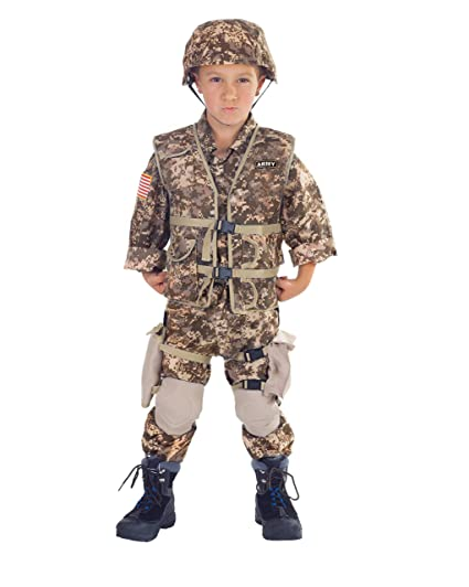 3dae5527da1 Underwraps Army Ranger Childs Deluxe Costume