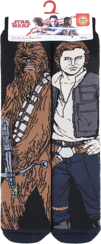 HEAT HOLDERS Uomo Invernali Antiscivolo Star Wars Calzini da Casa