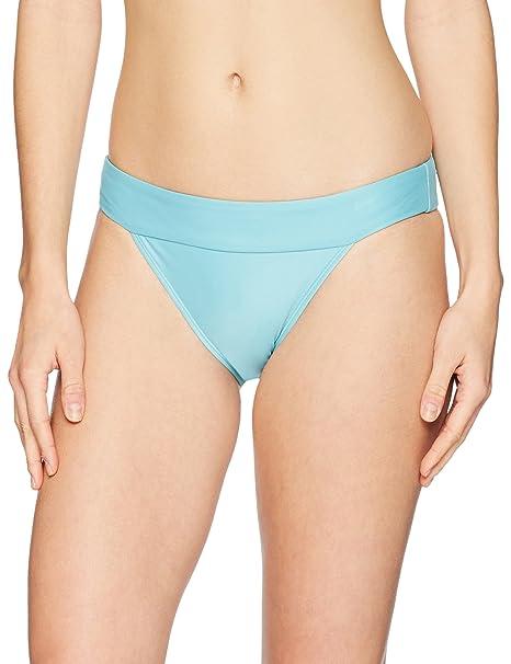 b21beaeb9d46d Amazon.com  Mae Women s Swimwear Banded Cheeky Bikini Bottom  Clothing