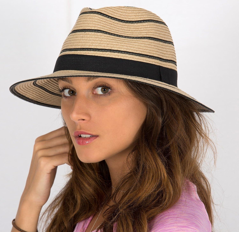 Rigon Headwear Femme pour Homme UV de Lot de 100pailles Chapeau Taille Unique