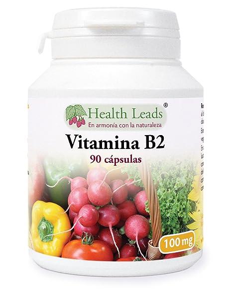 Vitamina B2 100mg x 90 cápsulas