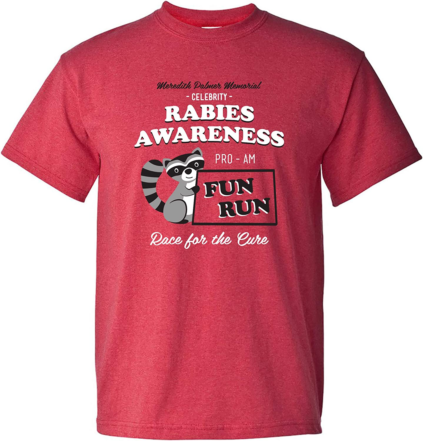 Rabies Awareness Fun Run - Funny TV Comedy Running T Shirt