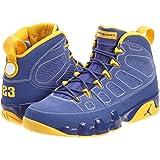 c5bfbcf96067 Nike Mens Air Jordan 9 Retro Calvin Bailey Leather Basketball Shoes