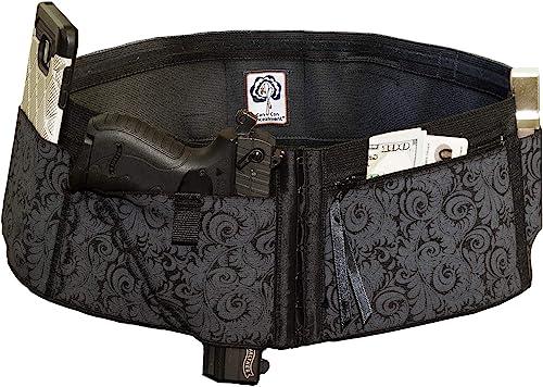 Can Can Concealment Hip Hugger Elite- Women's Compression Holster for Concealed Carry – IWB / OWB Gun Holster
