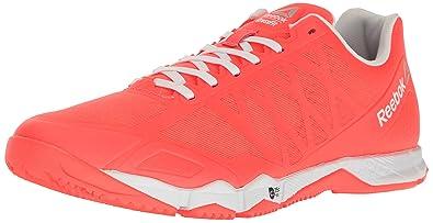 bafa11c947de Reebok Men s Crossfit Speed TR Cross-Trainer Shoe Vitamin C Silver Metallic  8 M