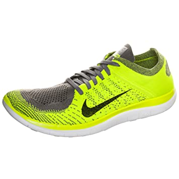 new concept 679c6 be5c0 Nike Nike Free 4.0 Flyknit - Zapatillas para Hombre, Color Amarillo, Talla  49.5 Amazon.es Zapatos y complementos