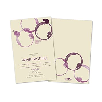 amazon com personalized wine tasting party invitations health