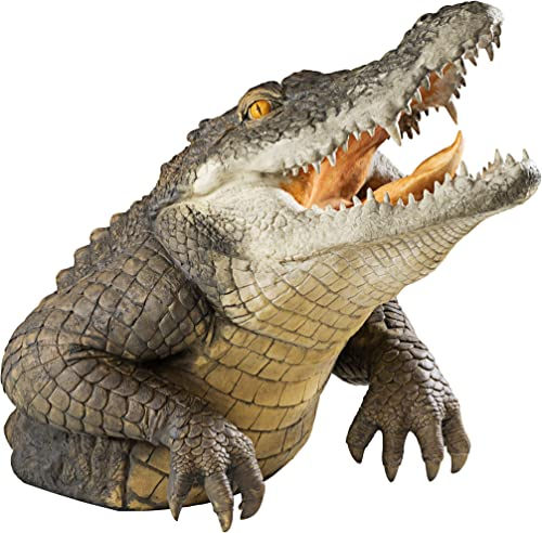 Design Toscano Snapping Swamp Gator Statue