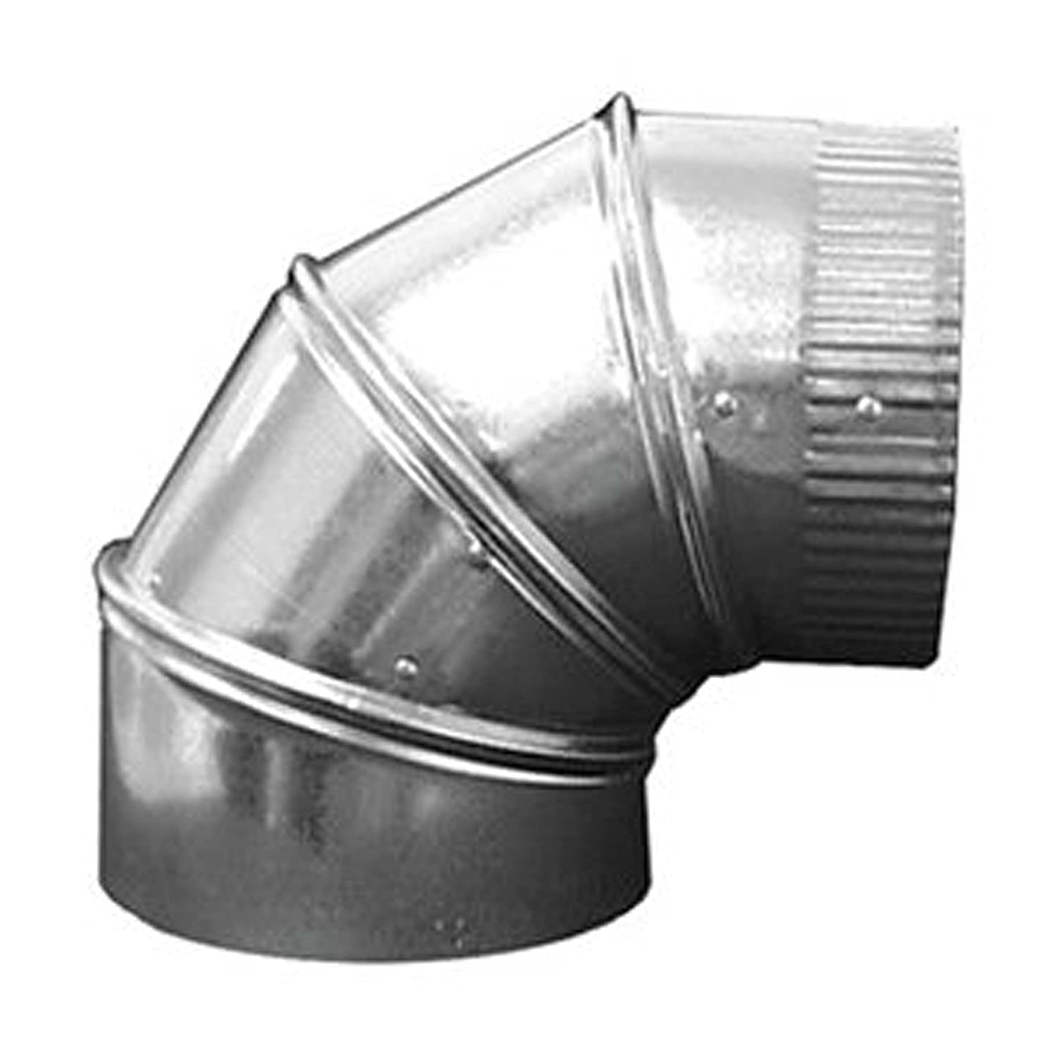 Hvac Duct And Fittings : Off quot duct elbow degree hvac sheet metal