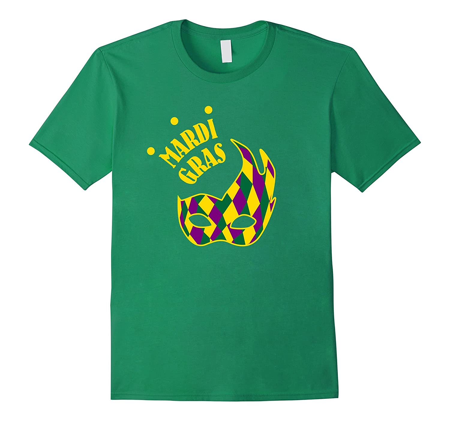 Mardi Gras Shirt Funny Cute Mask Celebration Party Gift-TD