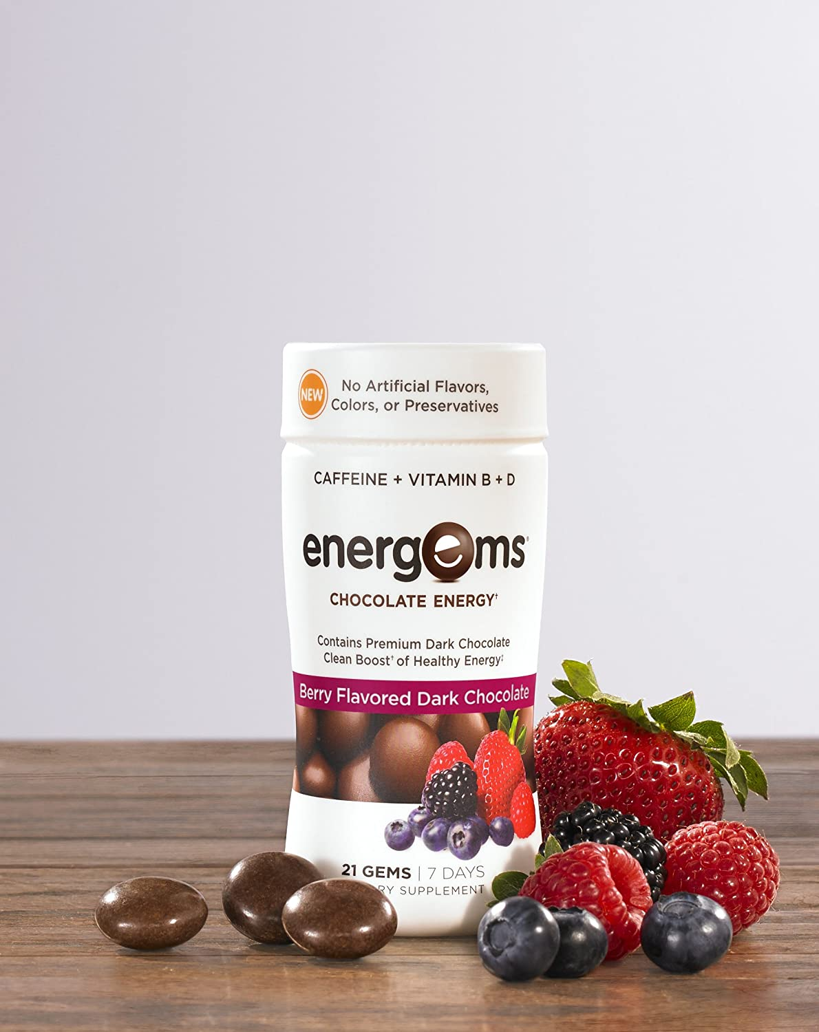Amazon.com: Energems Energy Boost Gems, 3 Bottle Pack (63 Gems ...