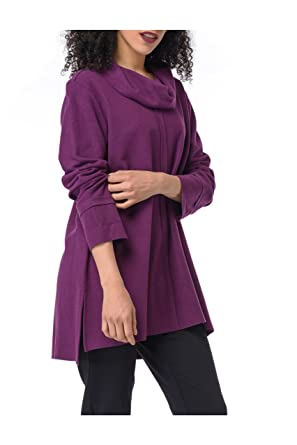 Habitat Clothes Seam Out Cowl Wine At Amazon Women S Clothing Store