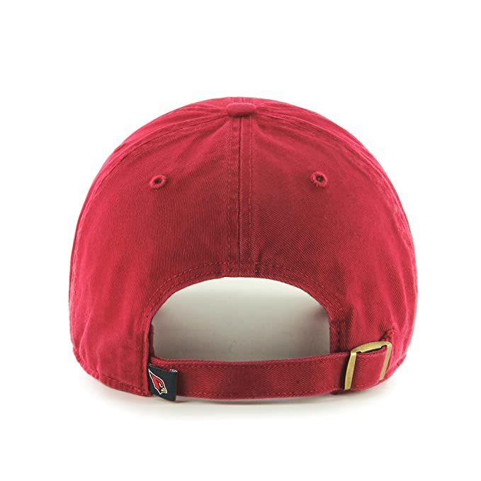 f4f659fc8f9847 Amazon.com : NFL Arizona Cardinals Clean Up Adjustable Hat, Dark Red, One  Size Fits All Fits All : Baseball Caps : Clothing