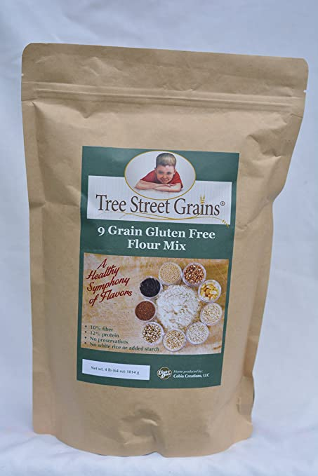 9 Ancient Whole Grain Gluten Free Flour Mix, 26 oz