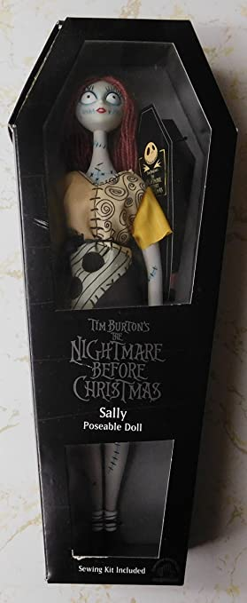 amazoncom sally nightmare before christmas doll with coffin appluase toys games