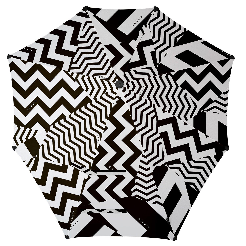 SENZ Original paraguas, blanco/negro, S: Amazon.es: Deportes y aire libre