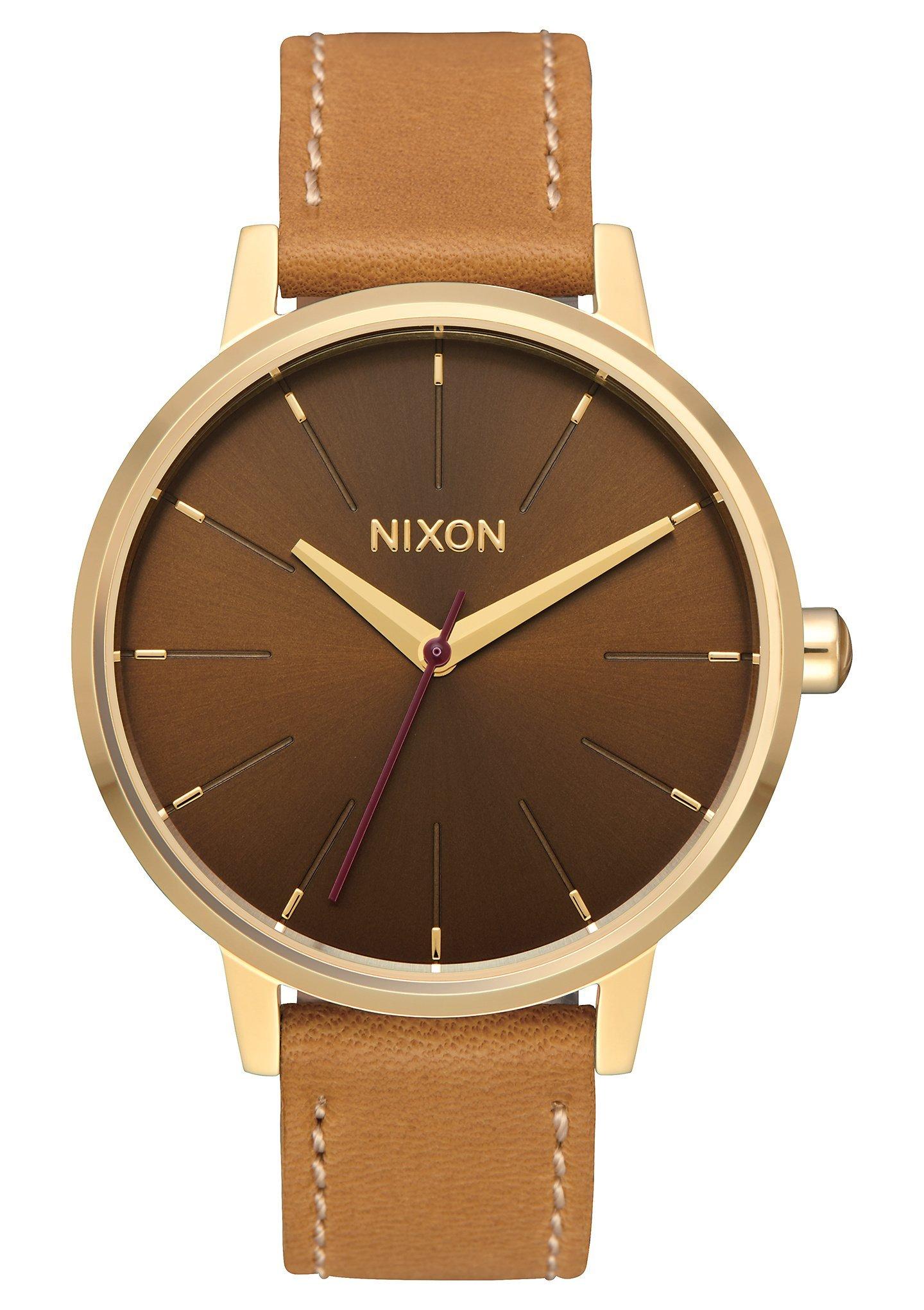 Ladies' Nixon Kensington Brown Leather Watch A108-2804-00 by NIXON