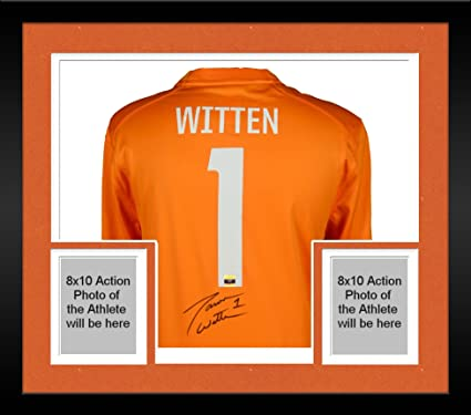 bd4e42c414c Framed Jason Witten Tennessee Volunteers Autographed Nike Orange Game  Jersey - Fanatics Authentic Certified