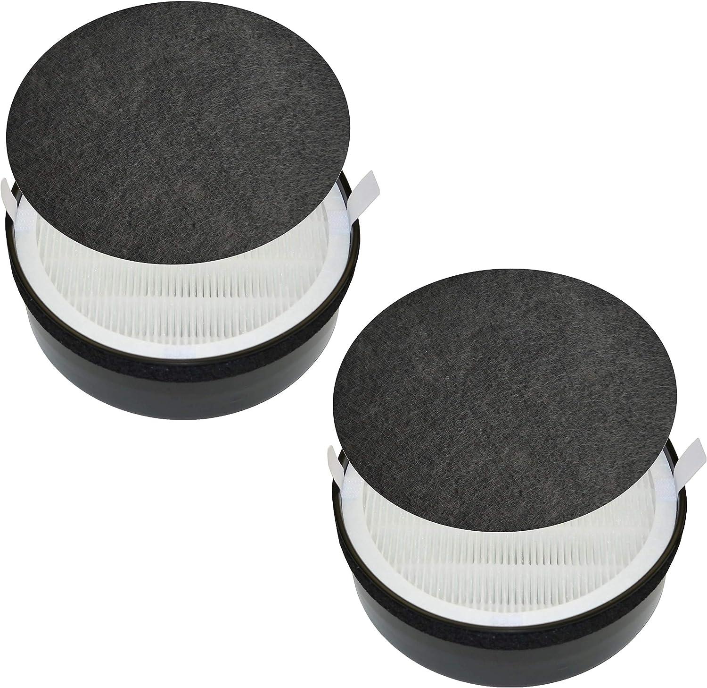 GENIANI Air Purifier 3-in-1 True HEPA Replacement Filter (G-2000-FL) (2 pack)