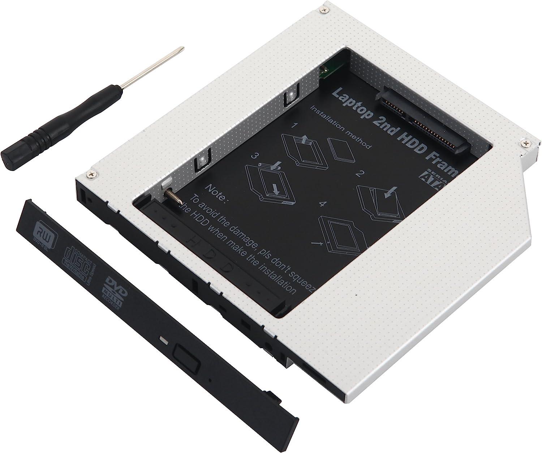 Deyoung 2do Disco Duro IDE a SATA óptico Bay Caddy DE 12,7 mm para ...