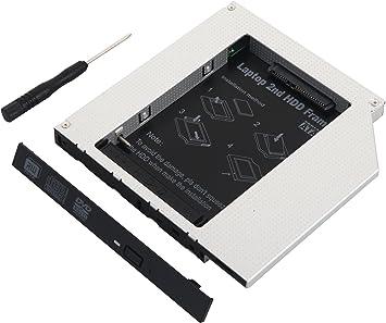 Deyoung 2do disco duro IDE a SATA óptico Bay Caddy de 12,7 mm ...