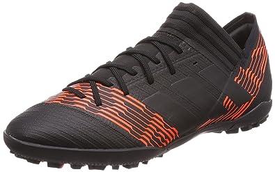63ca92d77 Adidas Men's Nemeziz Tango 17.3 TF Black Football Boots-10 UK/India (44