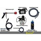 Boston Fieldstar High Pressure Washer Power Jet Wash Cleaner 12V Pump Electric Car Wheel Wash Kit
