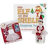 Amazon Com Elf On The Shelf A Christmas Tradition Blue