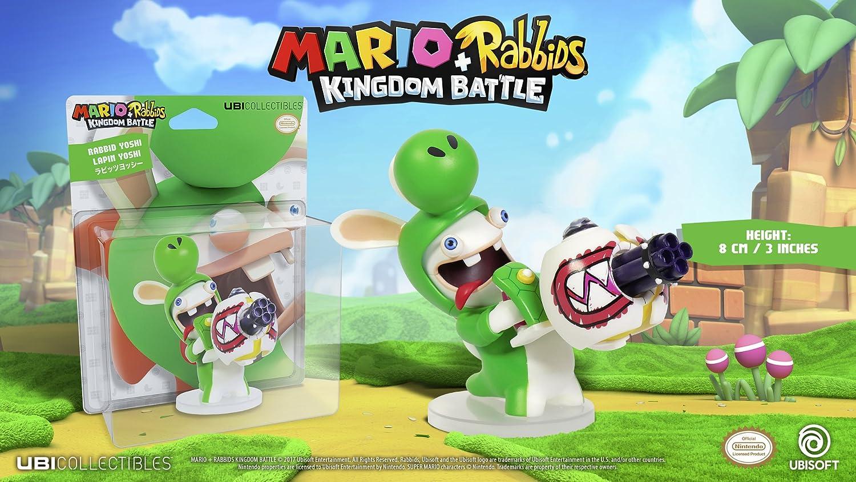 UBI Soft Mario & Rabbids Kingdom Battle Figur Rabbid Yoshi (8 cm ...