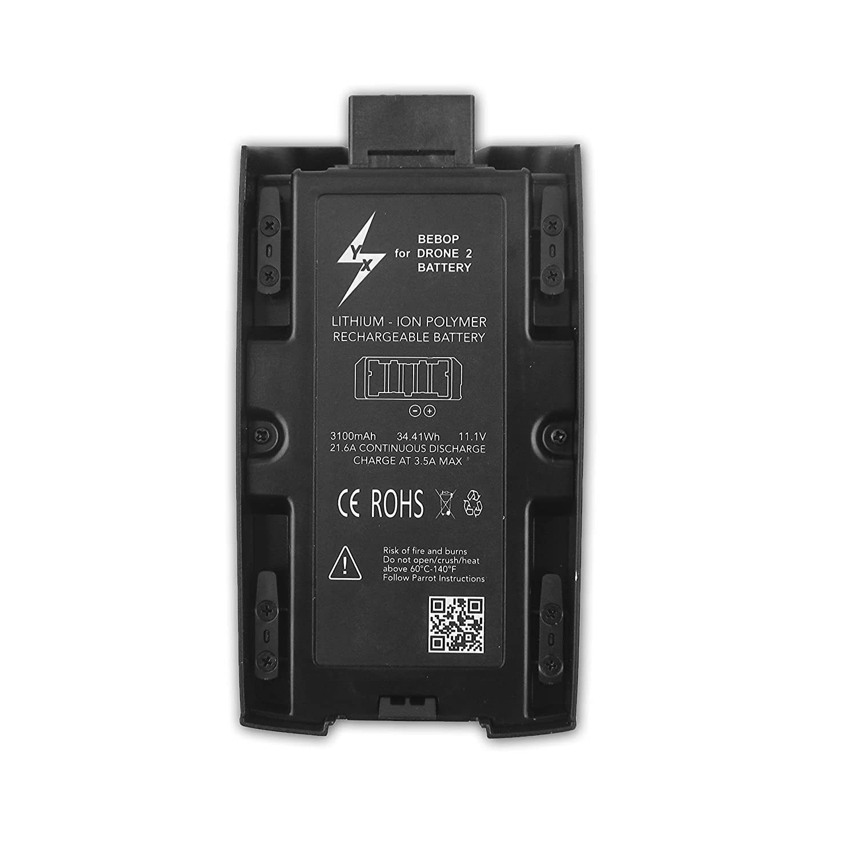 Anbee 3100mAh 11.1v Batería para Parrot Bebop 2 y Bebop 2 FPV ...