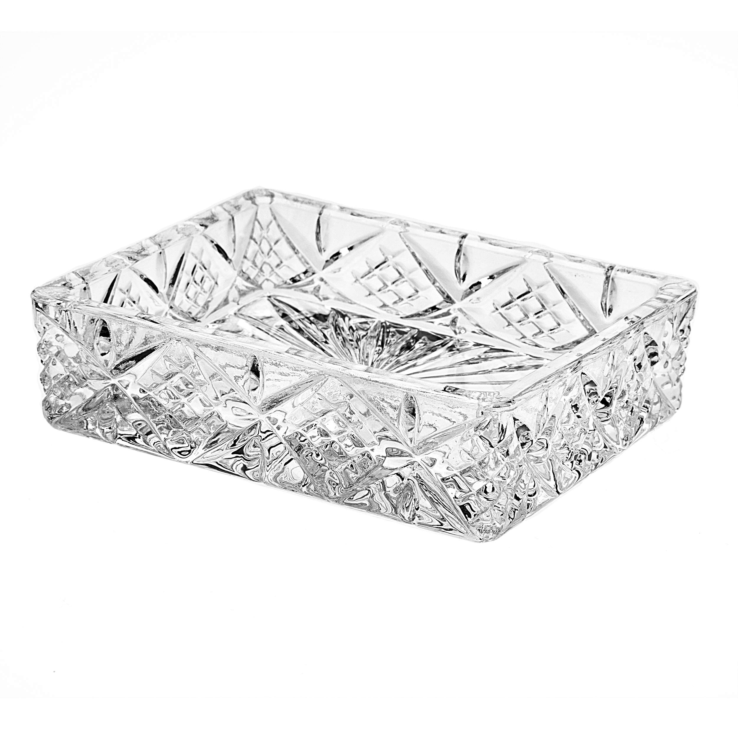 Godinger Crystal Dublin Soap Tray by Godinger