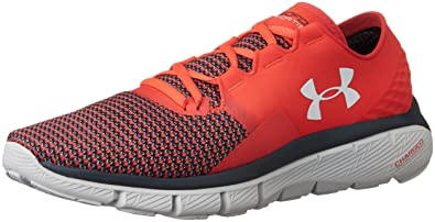 Under Armour Men's UA Speedform Fortis 2 Rocket Red/Glacier Gray/Overcast Gray Sneaker 11.5 D (M)