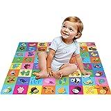 Kurtzy Play Puzzle Soft Alphabet Floor Sponge Mat for Kids Children, Multi (120 x 120 x 3 cm)